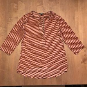 Express three quarter sleeve shirt